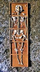 Béla Borbély - Amphibious Ecotype (Béla Borbély) Tags: contemporary art installation fishbone human skeleton artefact winter borbély béla festőművész borbelyarts painter multiple artwork finearts design crafts structure