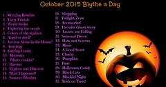 October 2015 Blythe a Day