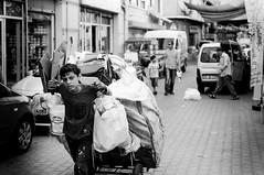 Garbage world (Emre Ç.) Tags: world life street boy work garbage child hard young documentary waste recycle collector sokak realty çöp toplayıcı