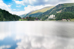 Turracher See (wigerl - herwig ster) Tags: longexposure light lake mountains green berg landscape austria see licht sterreich europa europe foto sommer sony captured krnten carinthia grn landschaft 18105 langzeitbelichtung glens ilce turrach a6000