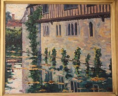 20150901_3944 Winston Churchill painting at Ightham Mote