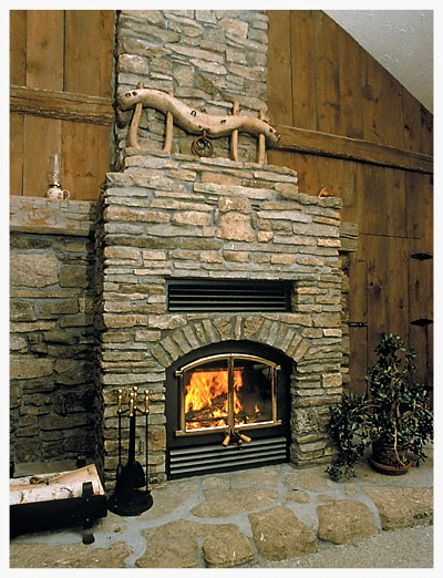 RSF Opel 2 wood burning fireplace