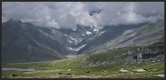 Take it slow... (Amar Mainkar) Tags: glacier manali rohtangpass