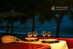 Restaurante a beira mar (Anselmo Garrido) Tags: praia restaurante bahia noite beiramar taas itacimirim nordeste