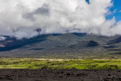 Mauna Kea Driveby, Big Island - 3 (www.bazpics.com) Tags: ocean road sky usa cloud mountain america landscape island volcano hawaii us belt big highway unitedstates pacific outdoor hill driveby hi bigisland volcanoes hillside maunakea maunaloa