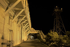 The Prison's Entrance Gate (dcnelson1898) Tags: sanfrancisco california nightphotography island nationalpark nikon nps tripod nativeamerican prison alcatraz sanfranciscobay nationalparkservice