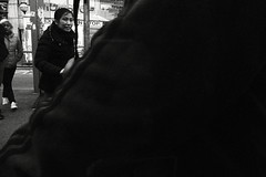 People Entering a Tram 01 (Kojotisko) Tags: bw streetphotography brno creativecommons czechrepublic streetphoto panasoniclumixdmcft2 lumixdmcft2