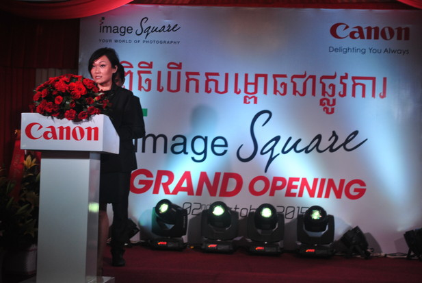 Canon image Square បើកដំណើរការ នៅកម្ពុជា ដំបូងគេ