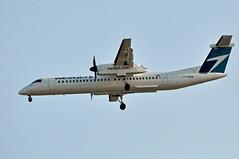 C-FHEN    YVR (airlines470) Tags: airport 8 dash yvr westjet 402 encore dhc8 cfhen
