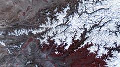 Hindu Kush Region, Afghanistan after the 7.5 Magnitude Earthquake (DMCii) Tags: pakistan snow afghanistan mountains landscape earthquake images disaster nir nearinfrared satellitedata dmcii ukdmc2 hindukushregion