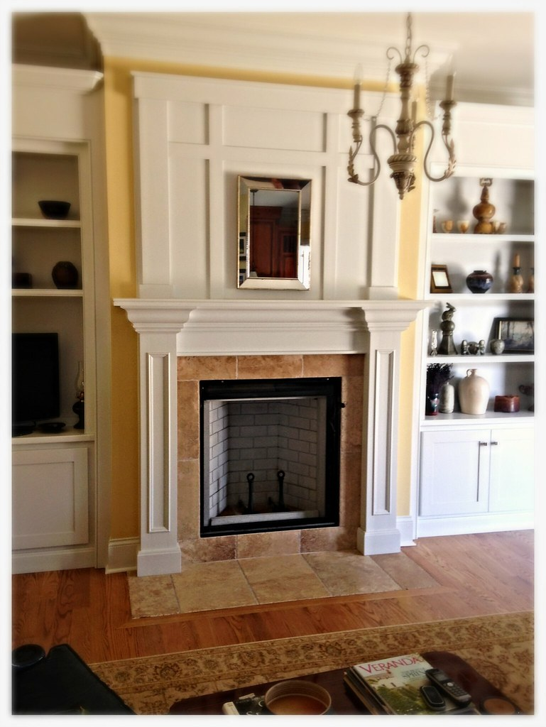 Renaissance Rumford Fireplace. Chattanooga, Tn.