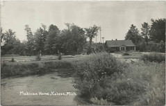 """NW Kaleva Manistee MI 1950s LURE MAKER HOME FAMOUS FISHING TACKLE MAKERS MAKINEN HOME &  LURE FACTORY MAKINEN LURES and some HEDDON MODELS Made here on Bear Creek (UpNorth Memories - Donald (Don) Harrison) Tags: travel usa heritage history tourism st vintage antique michigan postcard memories restaurants hotels trailer roadside upnorth steamship cafes excursion attractions motels mackinac cottages cabins campgrounds city"""" bridge"""" island"""" """"car upnorthmemories rppc wonders"""" """"big """"railroad """"michigan memories"""" mac"""" """"state parks"""" entertainment"""" """"natural harrison"""" """"roadside ferry"""" """"travel """"don """"tourist """"mackinaw puremichigan stops"""" """"upnorth straits"""" ignace"""""""