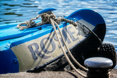 A Boat Called Rosie (garryknight) Tags: london boat canal rosie samsung islington barge lightroom nx2000 on1photo10