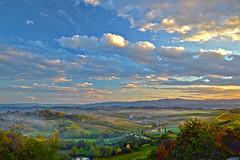 Contea Valdarnese (Ale & Franz on the road) Tags: panorama tramonto nuvole natura campagna cielo valdarno nikond3200