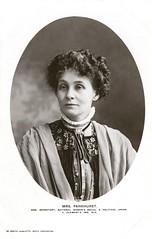 Emmeline Pankhurst, 1907-1912.