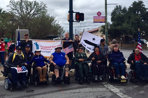 "SAS Veterans Day parade San Antonio group <a style=""margin-left:10px; font-size:0.8em;"" href=""http://www.flickr.com/photos/125529583@N03/22987052535/"" target=""_blank"">@flickr</a>"