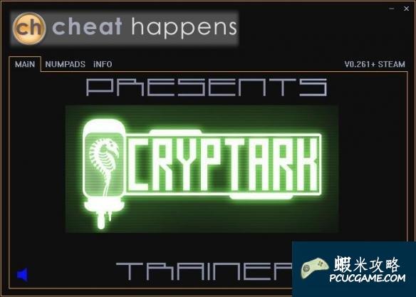 Cryptark v0.261五項修改器CH版