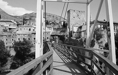 mostar (23) (Parto Domani) Tags: old bridge river war mostar bosnia fiume guerra ponte herzegovina neretva vecchio passerella turchi balcani artiglieria turco balcan croati erzegovina croato