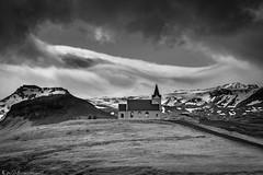 Gleðileg jól ~ Merry Christmas (Bill Bowman) Tags: ingjaldshóll snæfellsjökull churchonahill iceland ísland