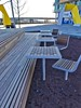 Dock 79 Plaza 2017-01-08 at 8.01.57 AM 6_edit (krossbow) Tags: checkerboard chess table chair washington dc seating plaza park outdoor oculuslandscaping oculus architecture dock 79 design capitol riverfront anacostia river photolemur