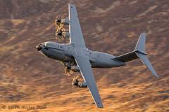 Airbus A400M Atlas (Gareth Hughes Photography) Tags: 1dx rafbrizenorton machynlleth canonef100400mmf4556lisiiusm a400 canon airbusa400m lowlevel banking wales raf machloop airbusa400matlas corris canon1dx eos midwales lfa7 aviation