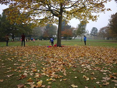 He's gonna make it! (wanderland.space) Tags: london uk autumn park nwlondon kensalgreen roundwoodpark copperautumn beautiful wwwwanderlandspace wanderlandspace лондон парк осень panasoniclumix lumix panasonic