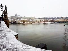 Charles Bridge Praha (mayssaradwan1) Tags: prague praha snow charlesbridge december 2017 europe bridges photographs
