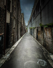 Alleyway (Martin Snicer Photography) Tags: wideangle 1018 street urban alley alleyway sydney 70d therocks photographer