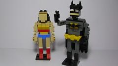 Batman and WonderWoman (andresignatius) Tags: lego miniland moc batman wonderwoman dccomics
