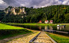 To Bohemia (mizan3950) Tags: bohemianswitzerland saxony saxonswartz saxonswitzerland sachen sachs travel bastei germany dresden nikon d3100 tourism reflection river elbe rathen mountain sandstone hiking