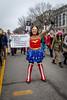 Wonder Woman (Karol A Olson) Tags: womensmarch protest signs march washington dc resist jan17 wonderwoman costume awesomeness