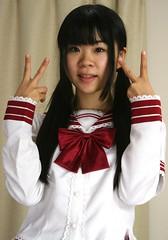 Prepare Pure Peace Pair Plans! (emotiroi auranaut) Tags: girl peace year happynewyear peaceful red white pretty japan japanese asia asian teen teenage teenager cute adorable nice beauty beautiful idea positive