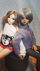 Amy [minifee celine] et Raven [kid DELF yuz] (maranwe84) Tags: minifeecelinebjdmsdfairyland kiddelf yuz luts lutsyuz