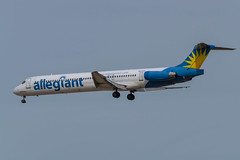 Allegiant / MD83 / N877GA / KIWA 30L (_Wouter Cooremans) Tags: kiwa iwa mesagateway mesa gateway spotting spotter avgeek aviation airplanespotting allegiant md83 n877ga 30l