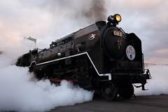 Powerful runner (Teruhide Tomori) Tags: steamlocomotive railway sl kyoto japan umekoji 京都鉄道博物館 日本 kyotorailwaymuseum 京都 梅小路 蒸気機関車 c62