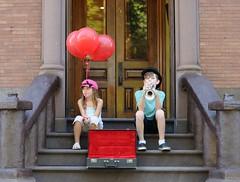 All That Jazz (disgruntledbaker1) Tags: balloon red jazz disgruntledbaker