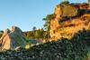 Catching the light (andythomas390) Tags: sunset rays light rocks outdoor nikon d7000 18200mm leepolariser