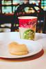 Starbucks (allejandrine) Tags: stillife cafe donut tea bokeh