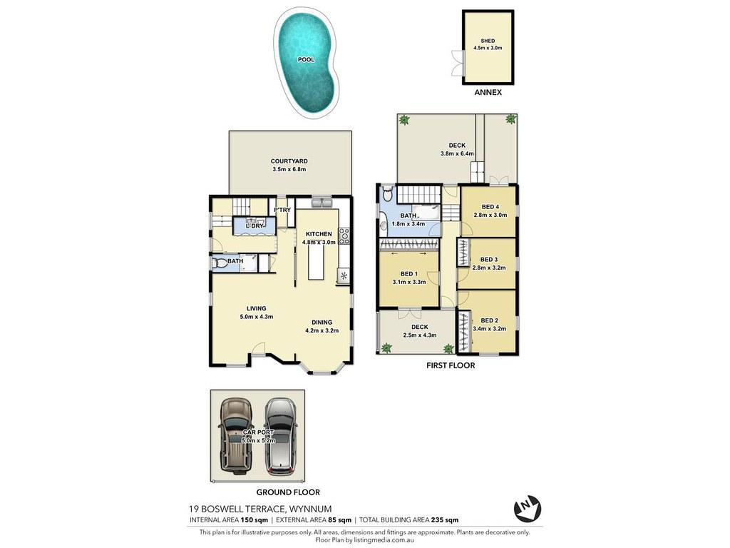 19 boswell terrace wynnum qld 4178 sold price for 7 grattan terrace wynnum