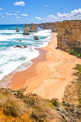 The Twelve Apostles (Explore) (goznaraw) Tags: the twelve apostles great ocean road victoria landscape sea goznaraw australia fujix100t nationalpark sandstone