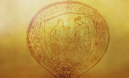 "Petteia - Ludus Latrunculorum  / Iconografía de las civilizaciones helenolatinas • <a style=""font-size:0.8em;"" href=""http://www.flickr.com/photos/30735181@N00/32143092390/"" target=""_blank"">View on Flickr</a>"