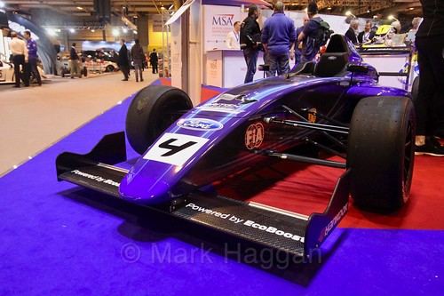British Formula Four at the Autosport International Show 2017