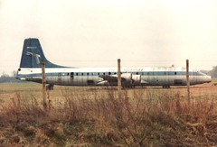 Remains of Transglobe G ATLE (Gerry Rudman) Tags: transglobe canadian pacific bristol belfas short brothers gatle baa gatwick fire service