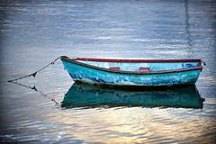 Boat (zebrazoma) Tags: boat barque bretagne saintsuliac rance eau mer sun soleil coucher sunset reflet reflection nikon d4 70200 f28