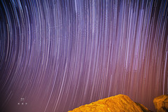 Star Trails (| R | R | P |) Tags: nightstars hampi longexposure startrails nightsky astrophotography india karnataka multipleexposures rrp stargazing rakeshreddyponnala rrpphotography mathungahill