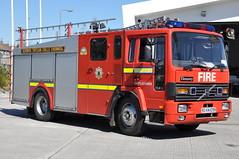 Kilkenny Fire & Rescue Service 1990 Volvo FL6 14  Timoney WrL 90KK1099