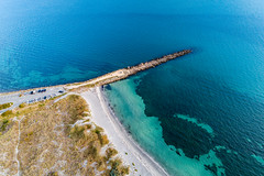 Groyne (James A Collins) Tags: carpark aerialphotography drone ocean dji water groyne djiphantom4pro cars aerial beach woodmanpoint westernaustralia coogee australia au