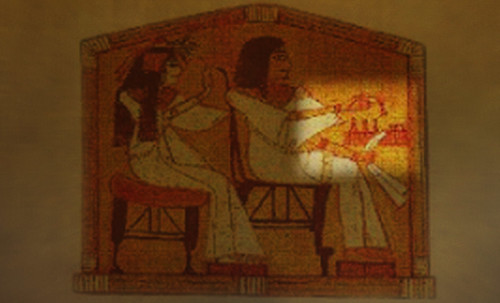 "Senet - Lujoso sistema de objetos lúdicos obsequio del dios Toht a la faraona Nefertari • <a style=""font-size:0.8em;"" href=""http://www.flickr.com/photos/30735181@N00/32369505152/"" target=""_blank"">View on Flickr</a>"