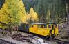 Yellow caboose (Snap Man) Tags: clearcreekcounty colorado frontrange georgetown georgetownloop attributes byklk yellow
