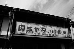 20170218 Gujohachiman 4 (BONGURI) Tags: 郡上市 岐阜県 日本 jp 広告 ad signboard ミヤタ自転車 miyata miyatabicycle house 家 家屋 town 街 町 street ストリート 通り 市街地 gujohachiman 郡上八幡 hachiman 八幡 gujo 郡上 gifu 岐阜 nikon df cosna cosinavoigtländercolorskopar28mmf28sl2naspherical